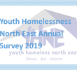Youth Homeless North East annual Homeless survey
